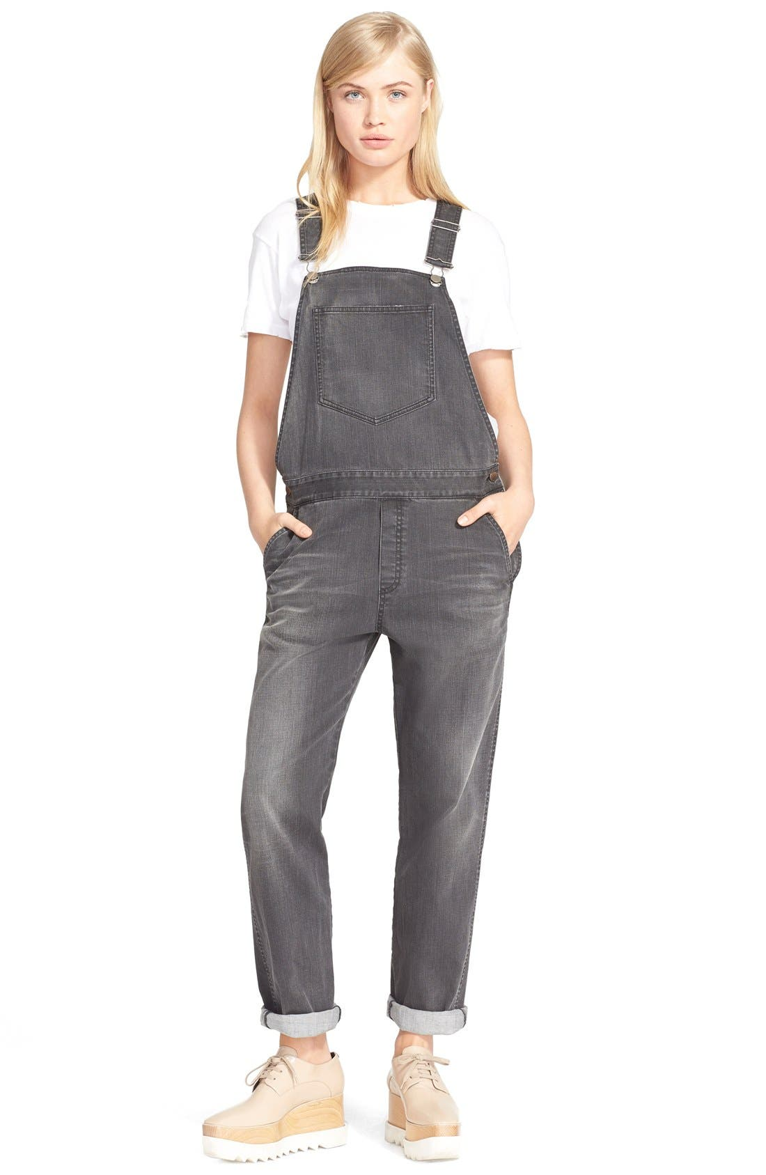 Alternate Image 1 Selected - Stella McCartney 'The Skinny' Boyfriend Dungarees