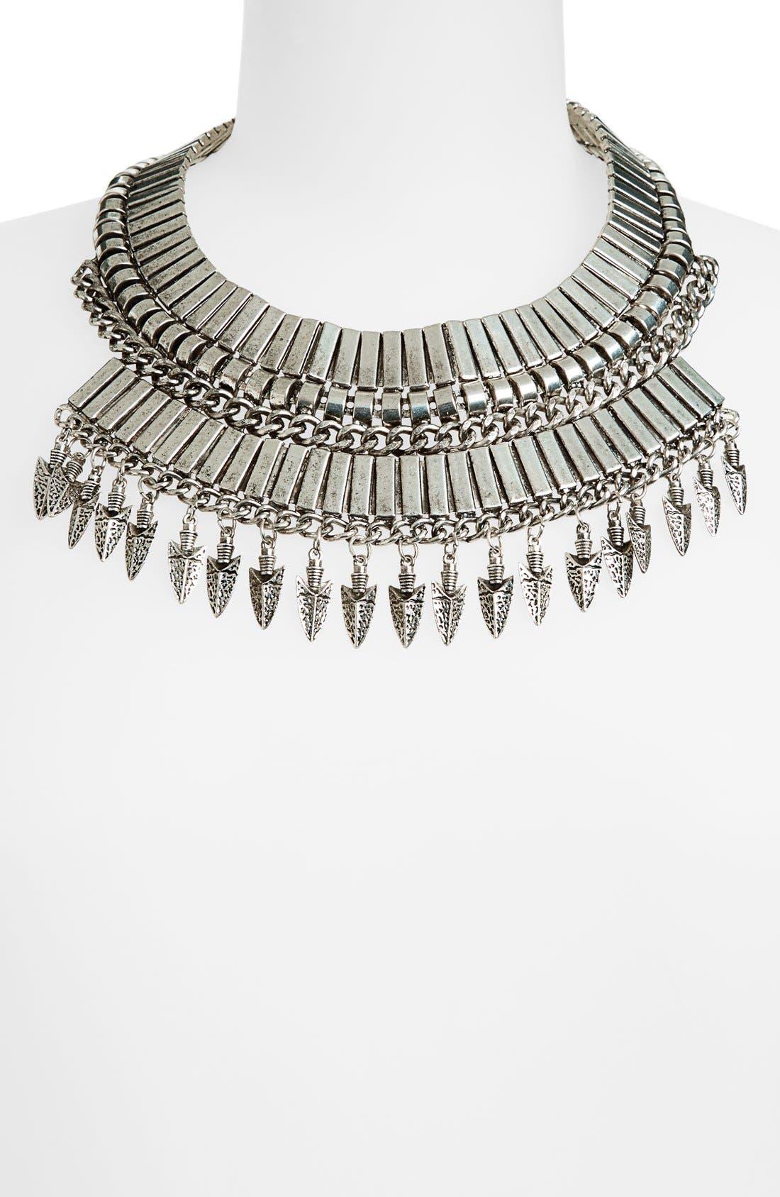 Alternate Image 2  - Leith 'Armour' Collar Necklace
