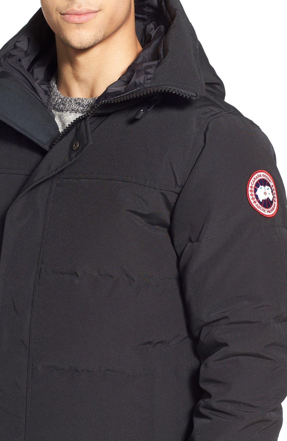Alternate Image 4  - Canada Goose 'MacMillan' Slim Fit Hooded Parka