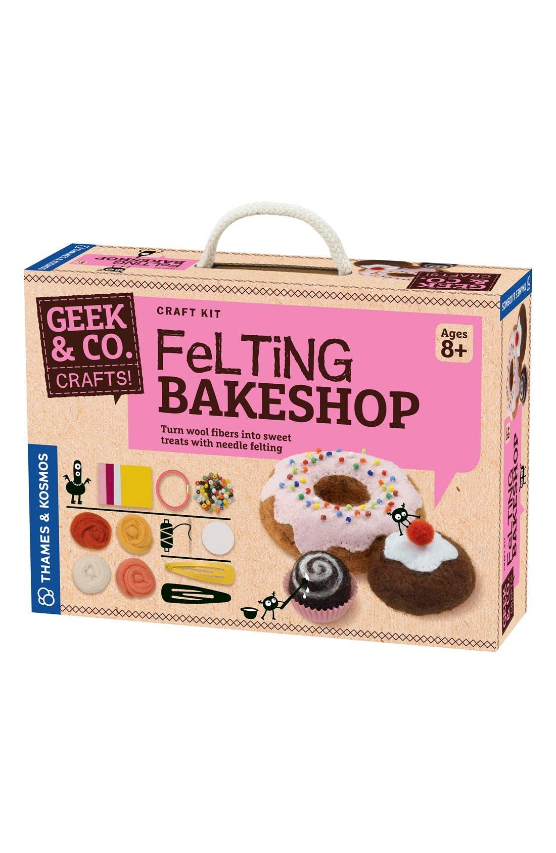 'Felting Bakeshop' Craft Kit,                         Main,                         color, Pink