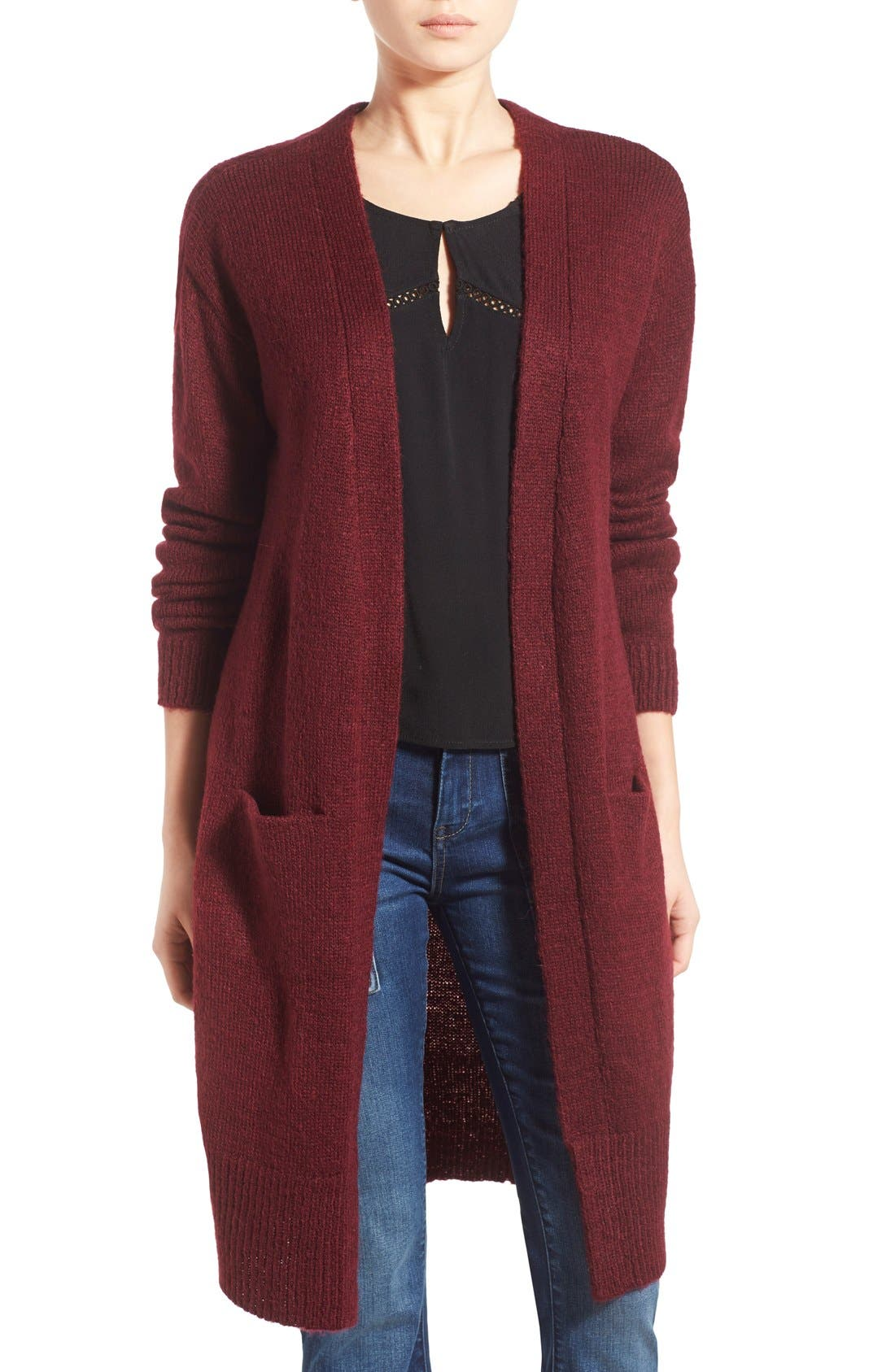 Alternate Image 1 Selected - J.O.A. Oversize Cardigan