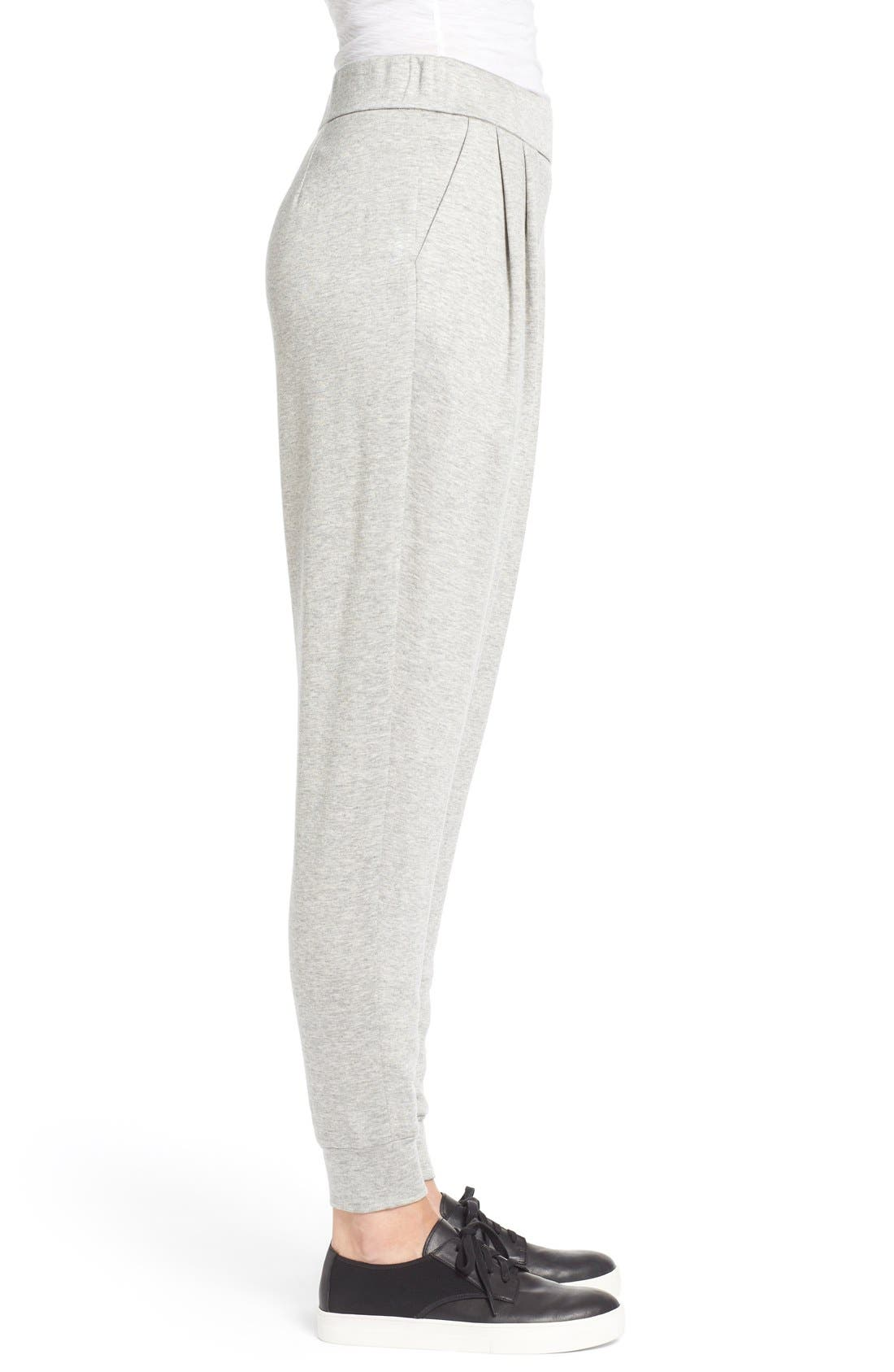 Alternate Image 3  - Eileen Fisher Slouchy Pleat Front Ankle Pants