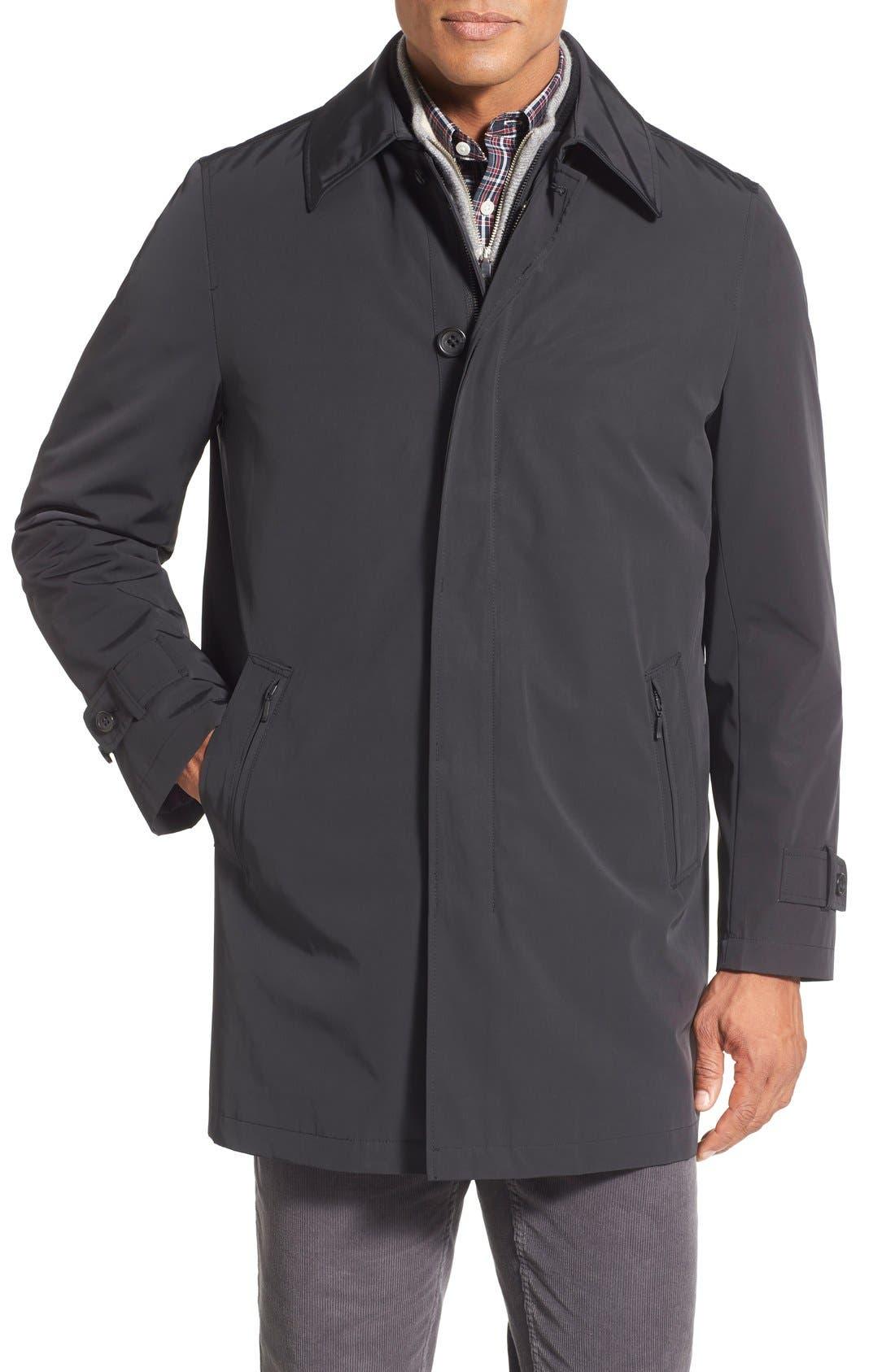 'Portland' Car Coat,                         Main,                         color, Black
