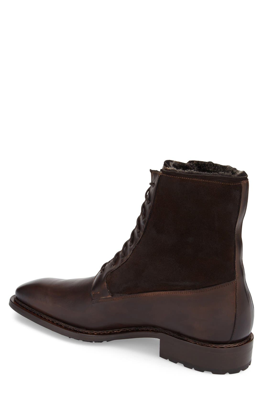Alternate Image 2  - Mezlan 'Luzern' Genuine Shearling Boot (Men)