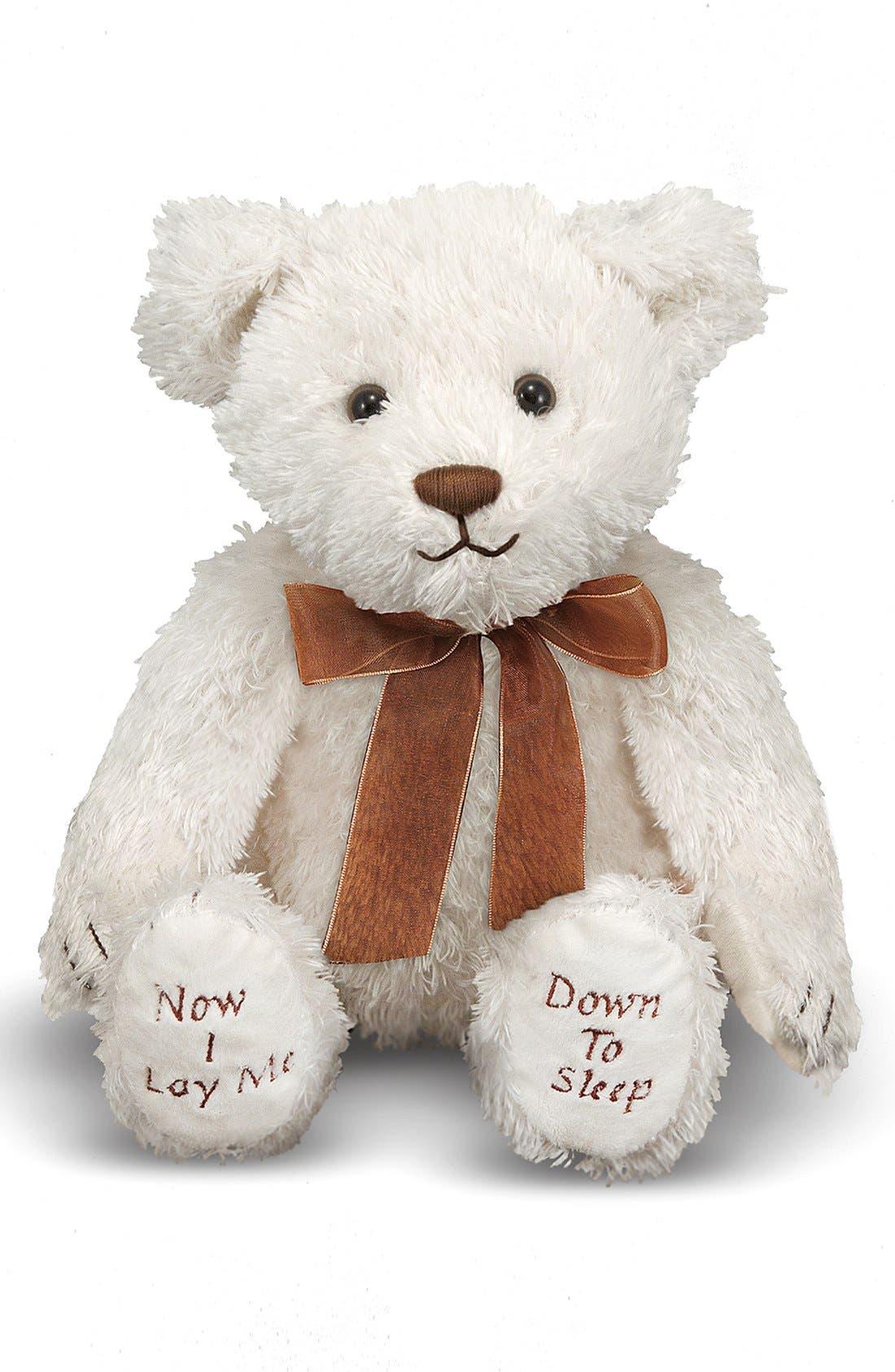 Bedtime Prayer Bear,                         Main,                         color, White