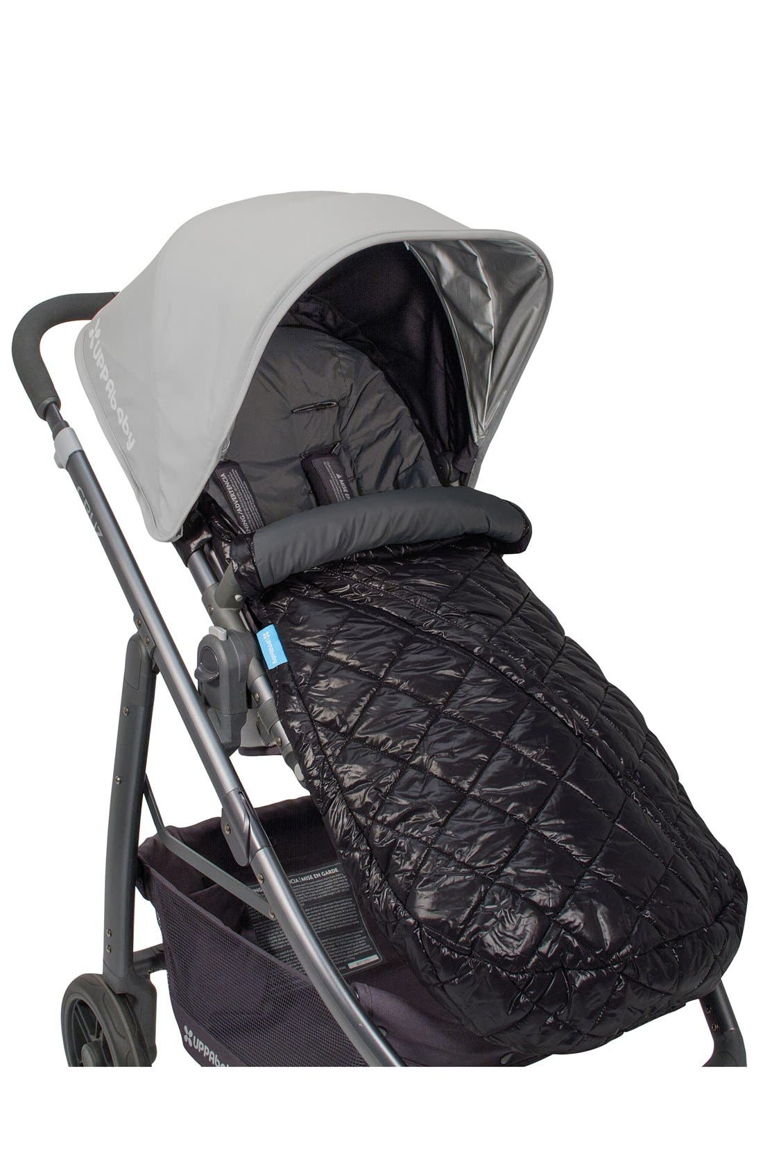 Ganoosh Water Repellent & Insulated Stroller Footmuff,                             Main thumbnail 1, color,                             Black