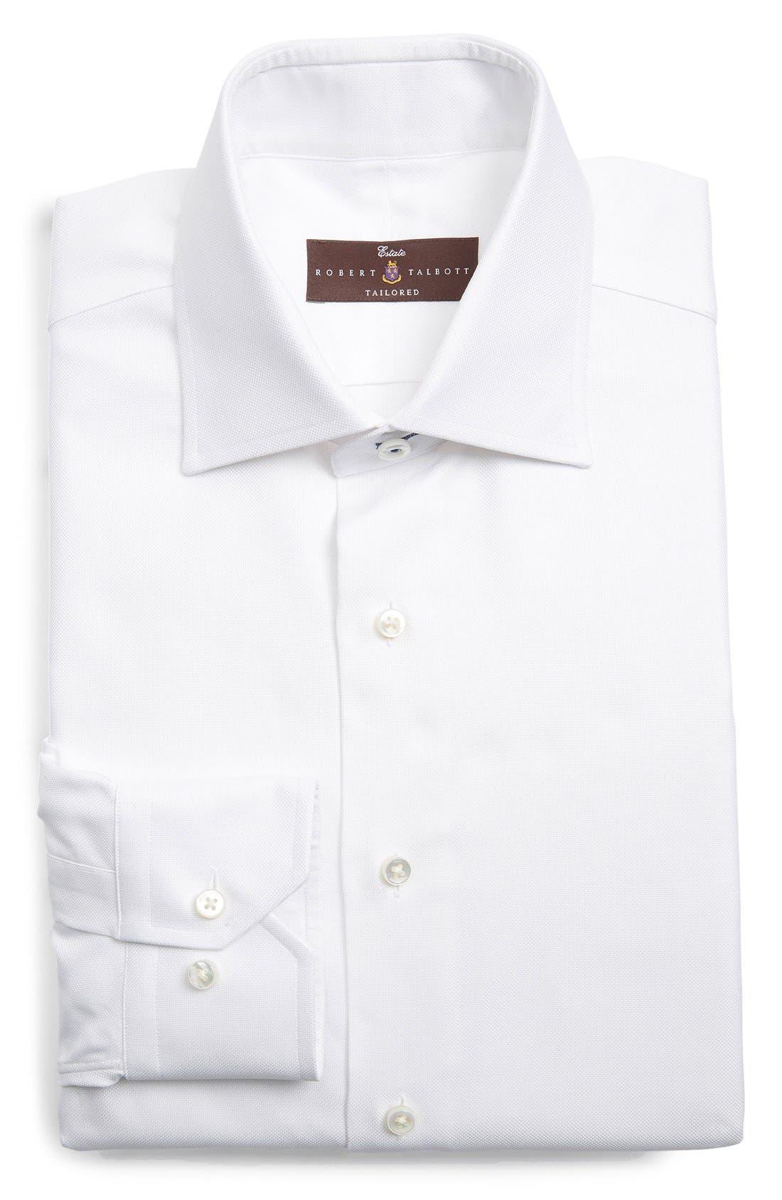 ROBERT TALBOTT Trim Fit Dress Shirt