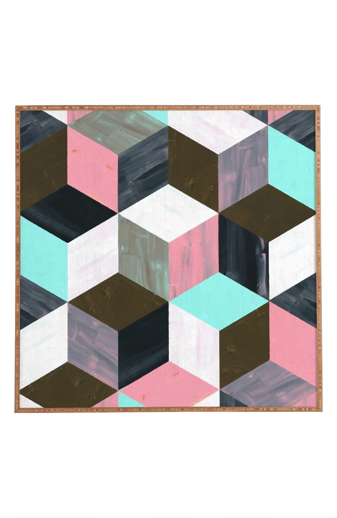 Alternate Image 1 Selected - Deny Designs 'The Runaway' Framed Wall Art