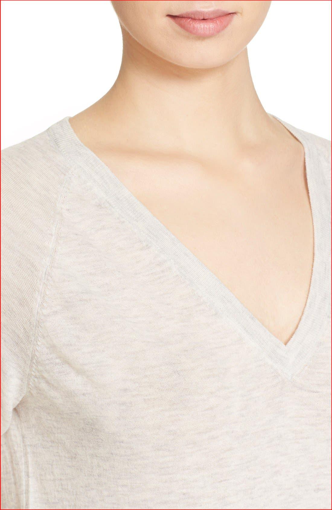 Alternate Image 4  - Equipment 'Asher' V-Neck Sweater