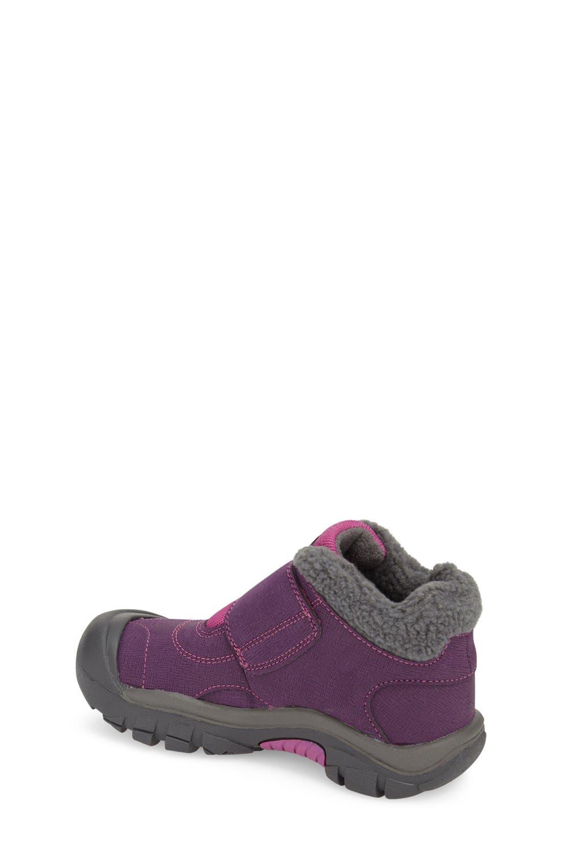 'Kootenay' Waterproof Winter Boot,                             Alternate thumbnail 2, color,                             Wineberry/ Dahlia Mauve