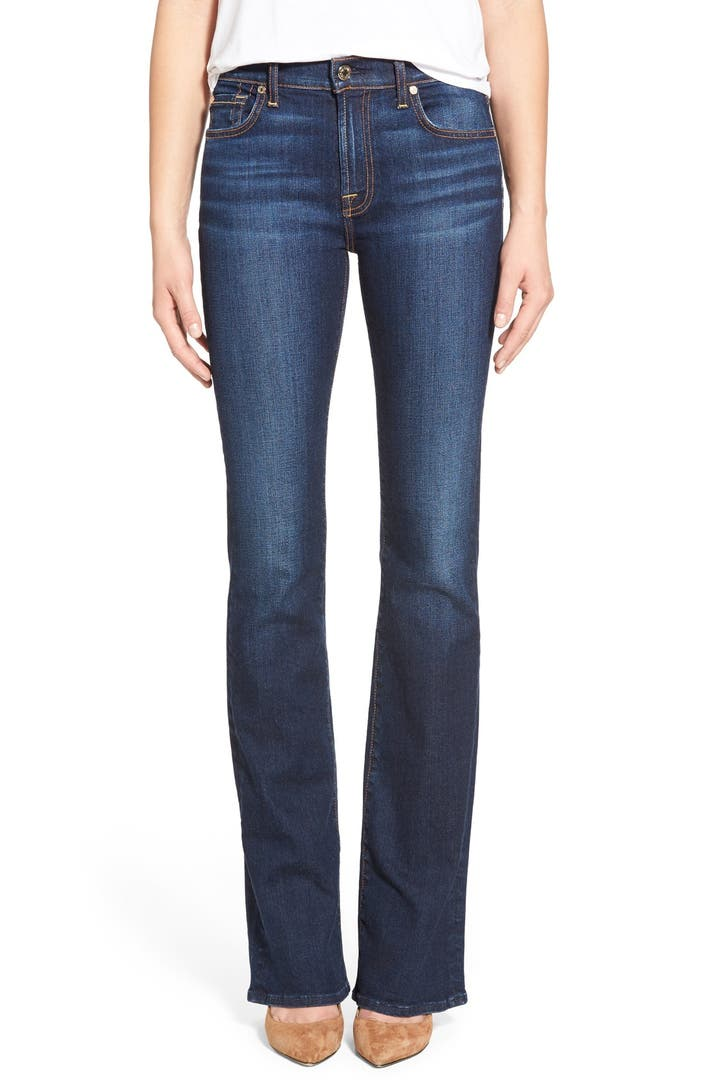 7 for all mankind new iconic bootcut jeans nordstrom. Black Bedroom Furniture Sets. Home Design Ideas