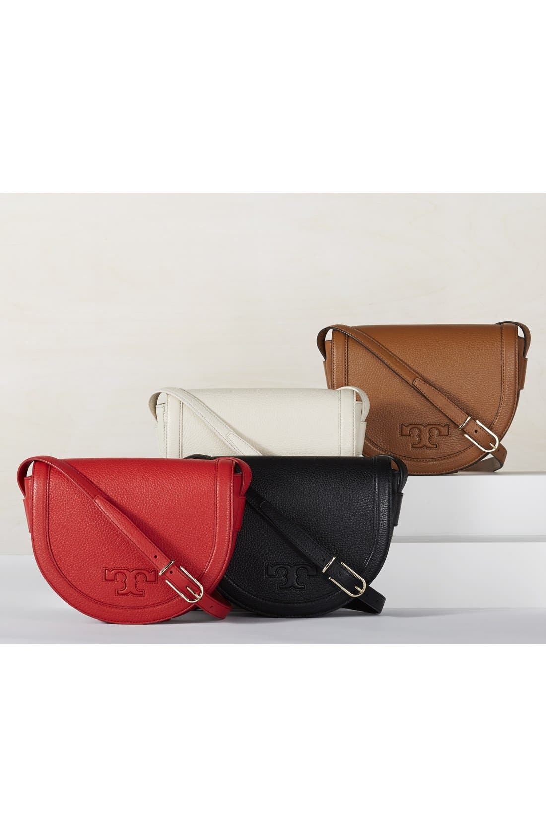 Alternate Image 3  - Tory Burch 'Serif T' Leather Saddle Bag
