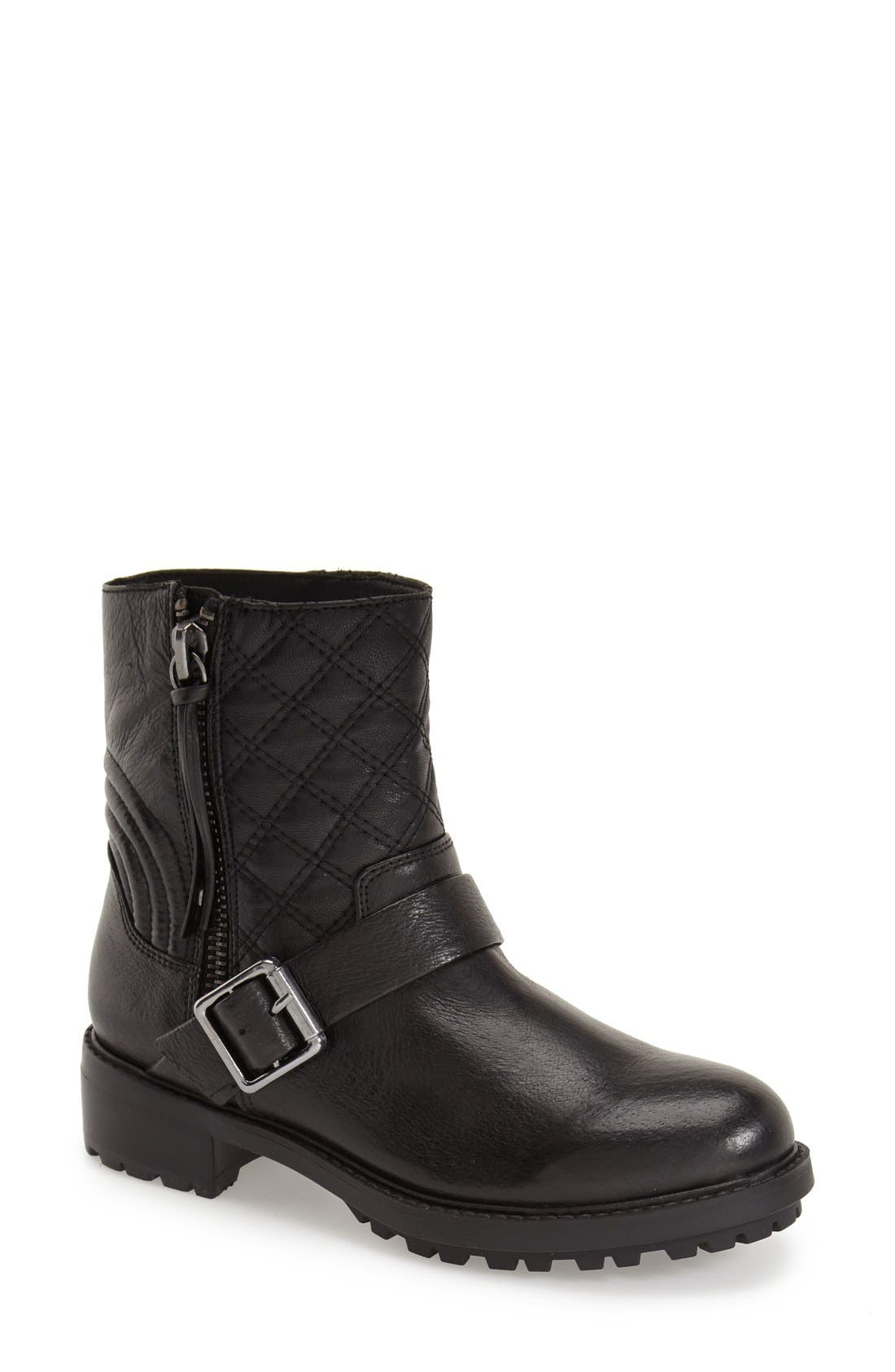 Main Image - Steve Madden 'Rivalree' Moto Boot (Women) (Special Purchase)
