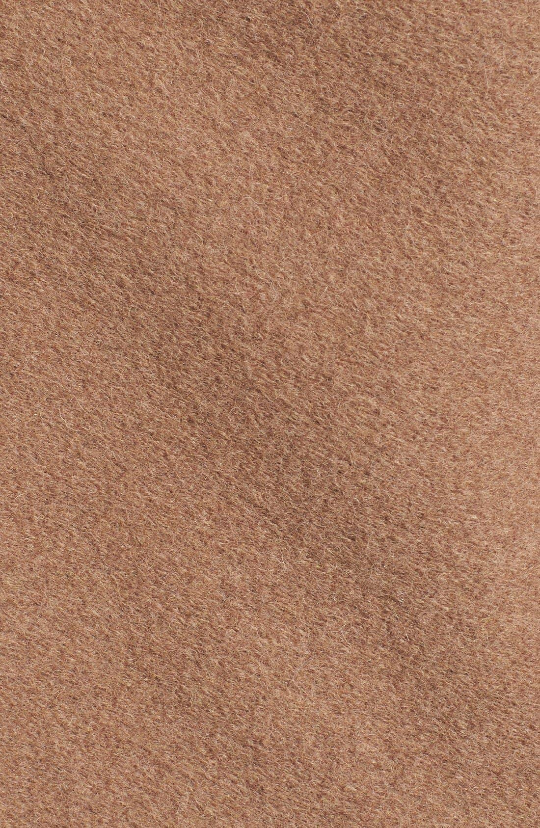 Alternate Image 5  - BB Dakota 'Hudson' Zip Detail Hooded Drape Front Coat