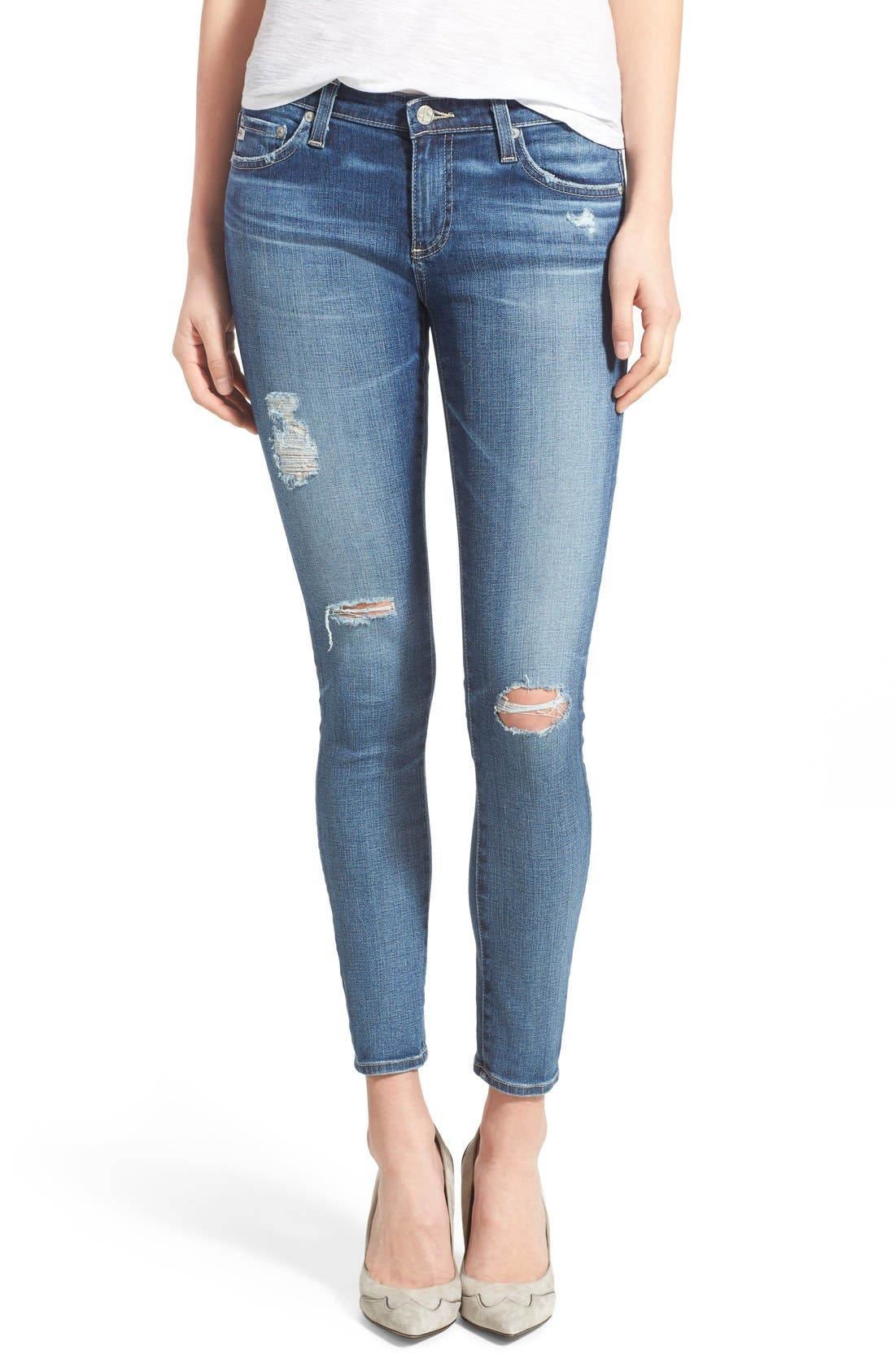 Alternate Image 1 Selected - AG 'The Legging' Ankle Jeans (11 Year Swap Meet)
