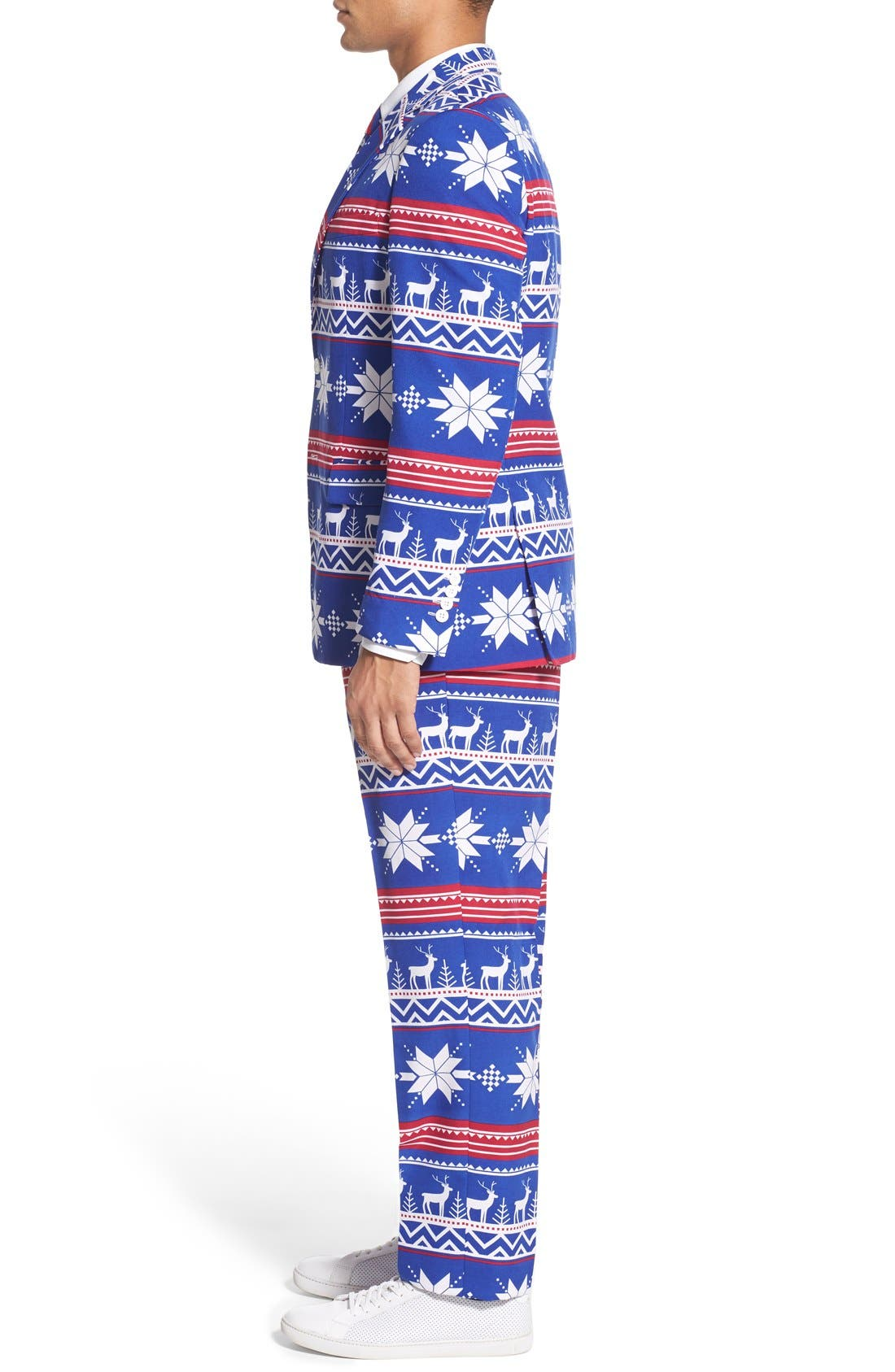 Alternate Image 3  - OppoSuits 'Rudolph' Holiday Suit & Tie