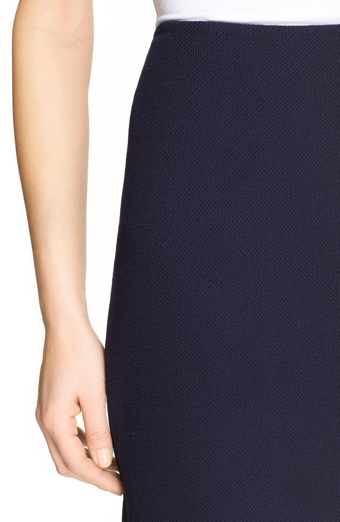 Alternate Image 6  - St. John Collection Milano Piqué Knit Pencil Skirt