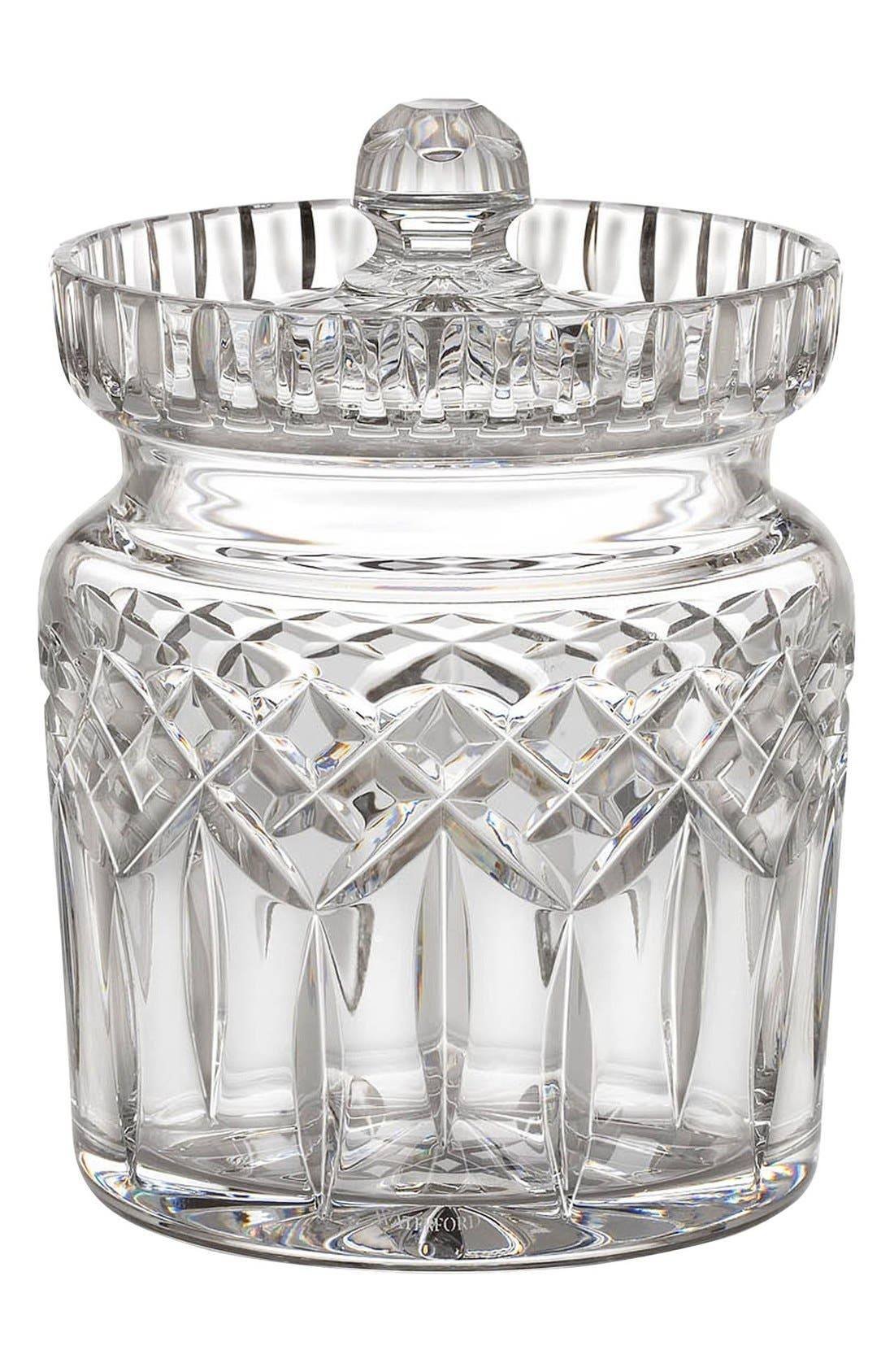Waterford 'Lismore' Lead Crystal Cookie Jar