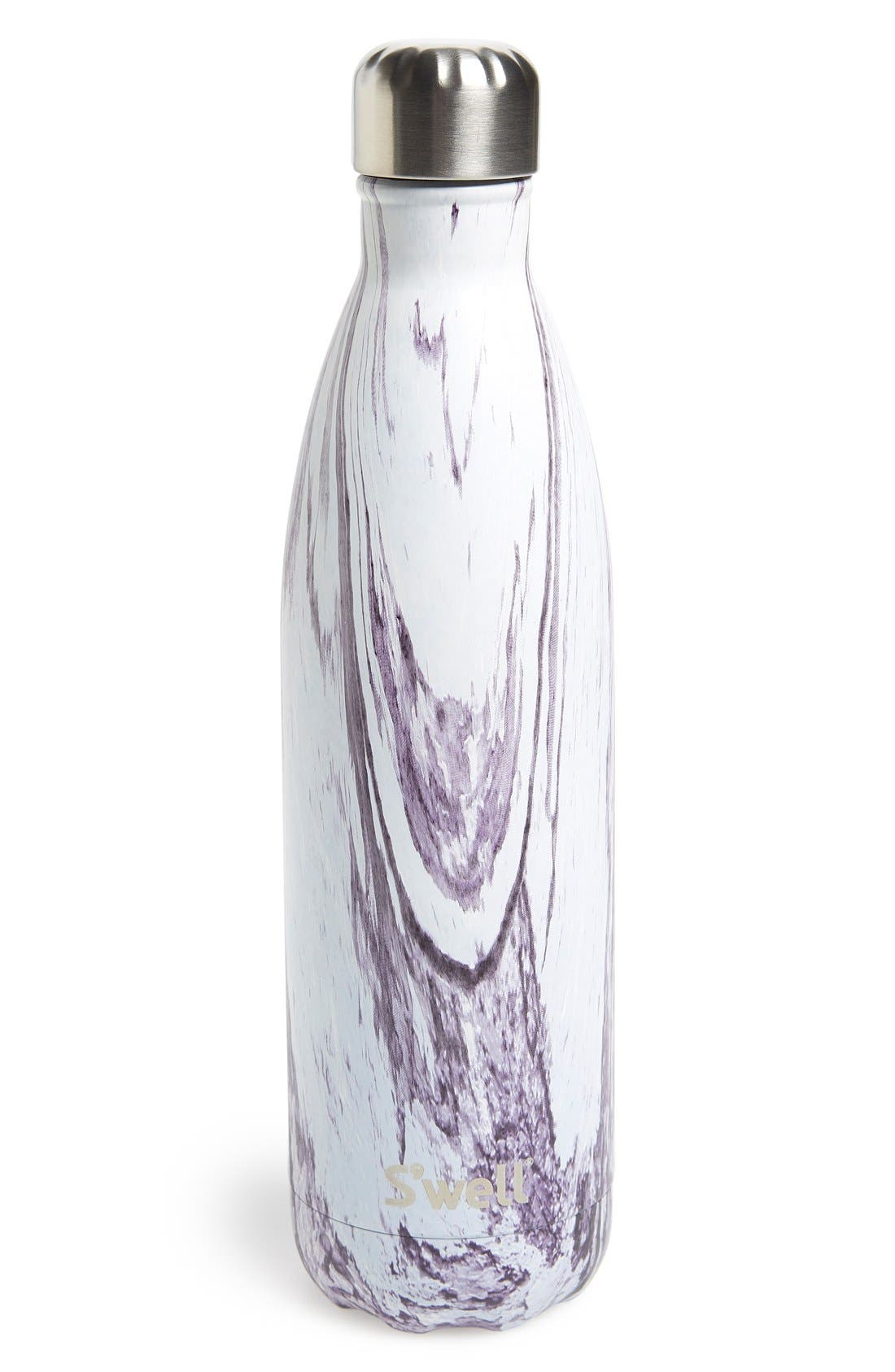 Main Image - S'well 'The Wood Collection - Lily Wood' Insulated Stainless Steel Water Bottle