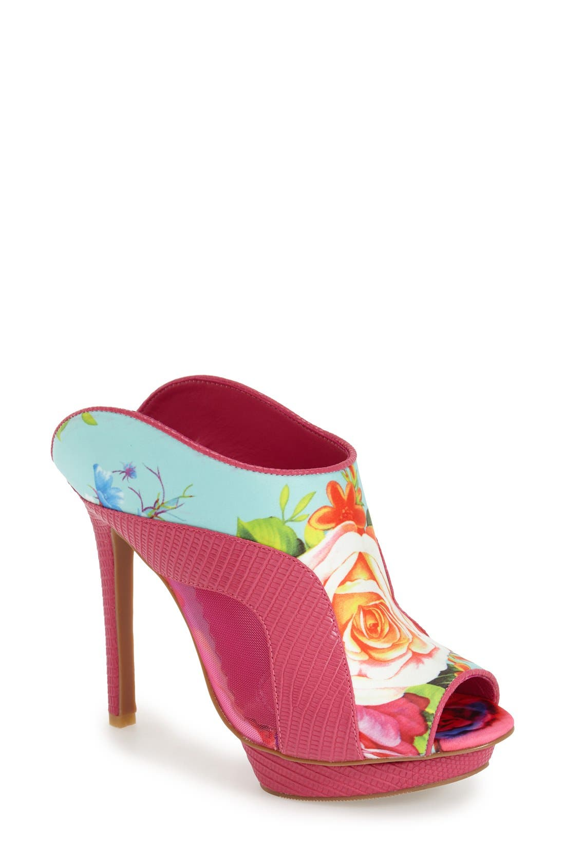 'TMI' Platform Mule,                         Main,                         color, Fuschia