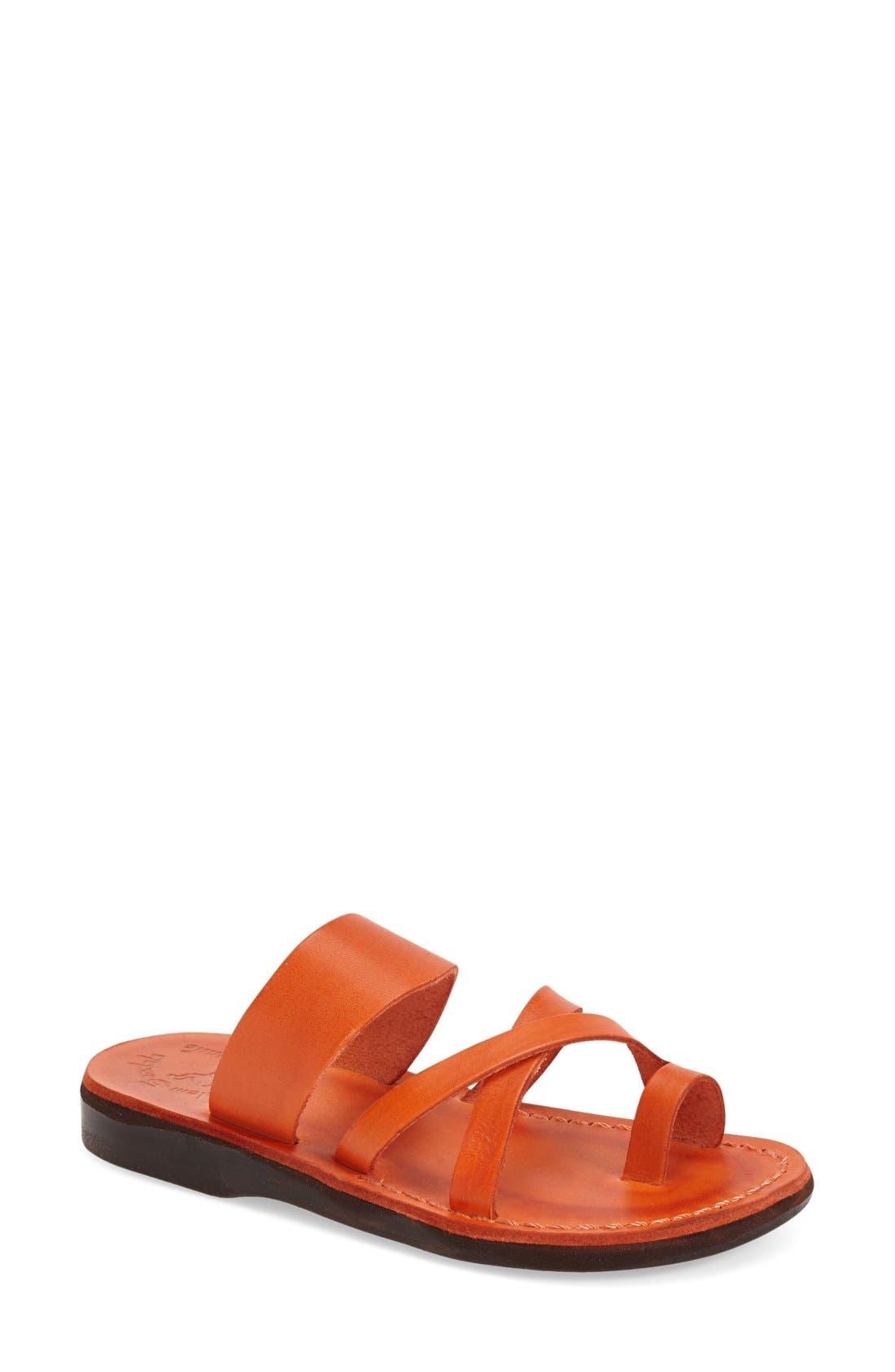 Jerusalem Sandals 'The Good Shepard' Leather Sandal (Women)