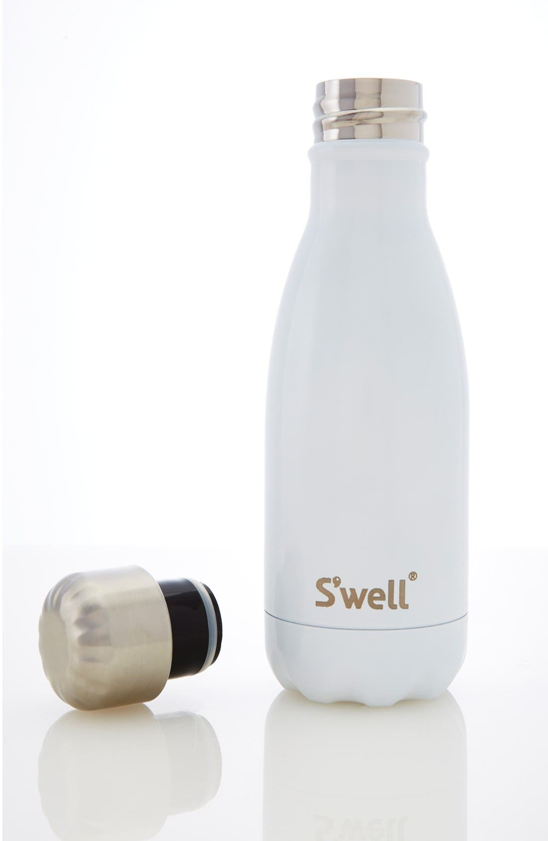 'Angel Food' Insulated Stainless Steel Water Bottle,                             Alternate thumbnail 5, color,                             Angel Food
