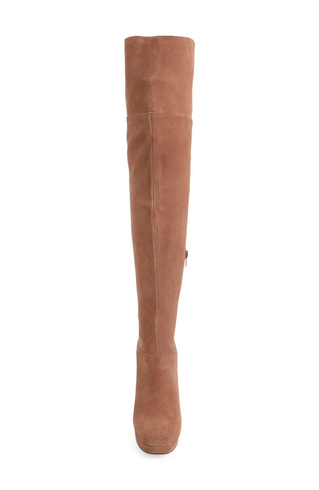 Alternate Image 3  - Jeffrey Campbell 'Destino' Over the Knee Platform Boot (Women)