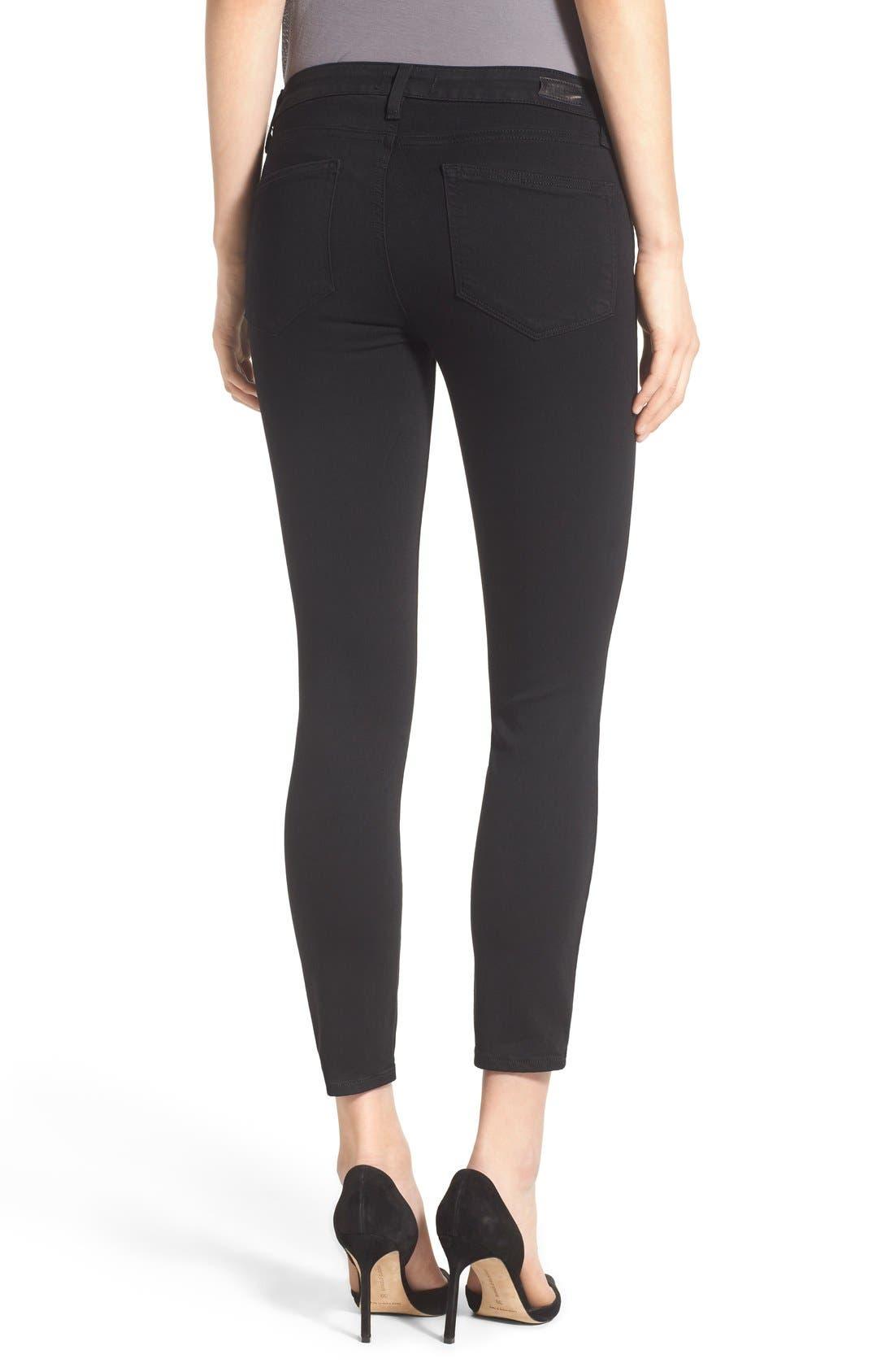 Alternate Image 2  - PAIGE Transcend - Verdugo Crop Skinny Jeans