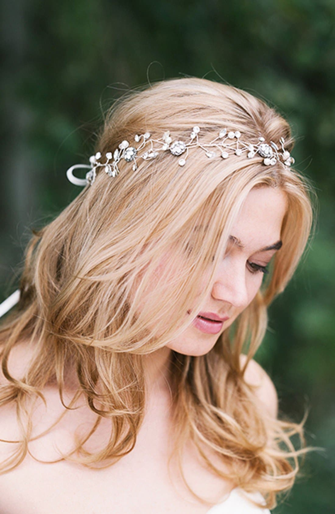 Alternate Image 3  - Sara Gabriel 'Olivia' Embellished Ribbon