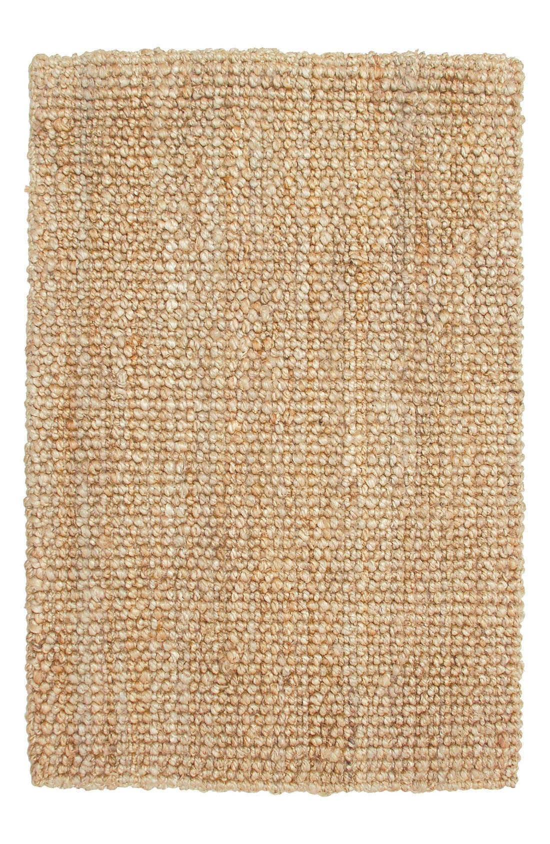 Hand Woven Loop Rug,                             Main thumbnail 1, color,                             Natural