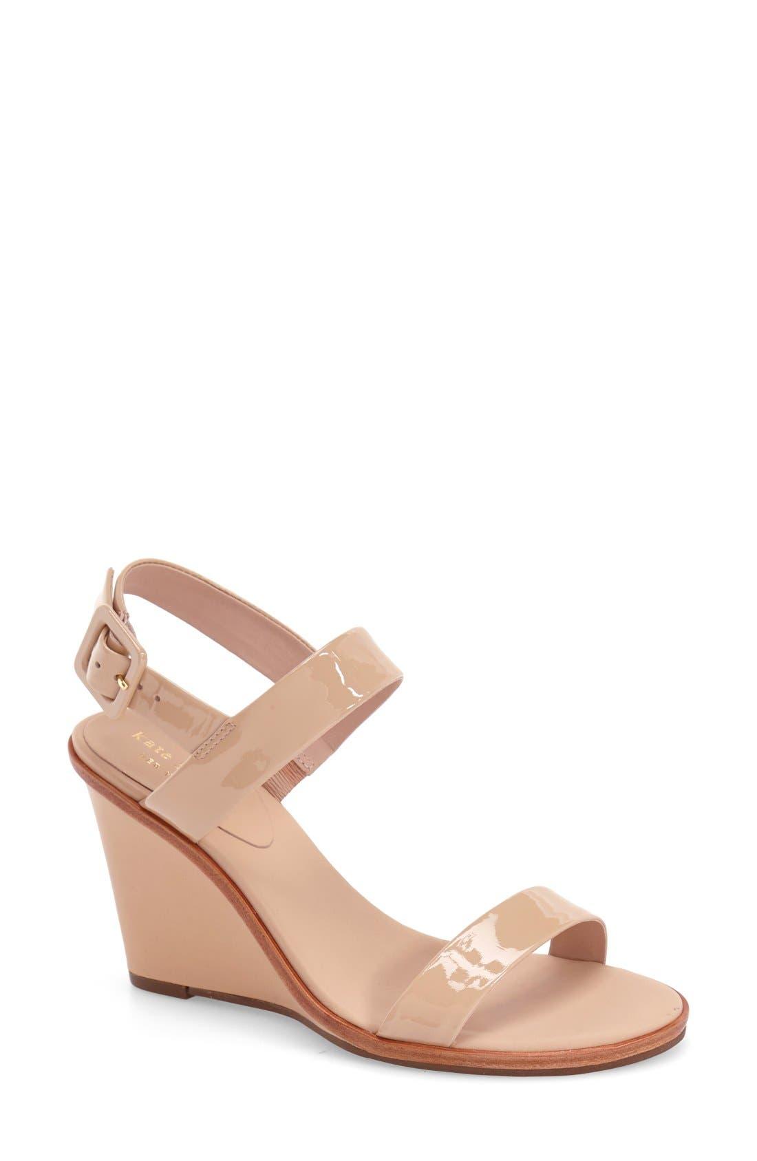 'nice' sandal,                         Main,                         color, Nude Patent
