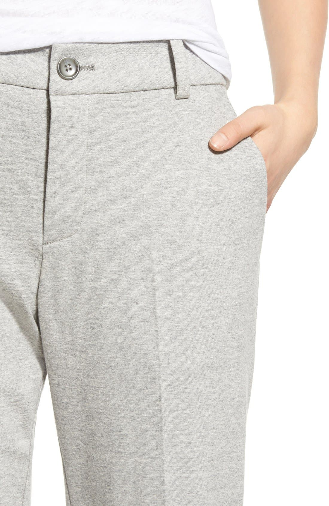 Alternate Image 4  - James Perse Cotton Jersey Trousers