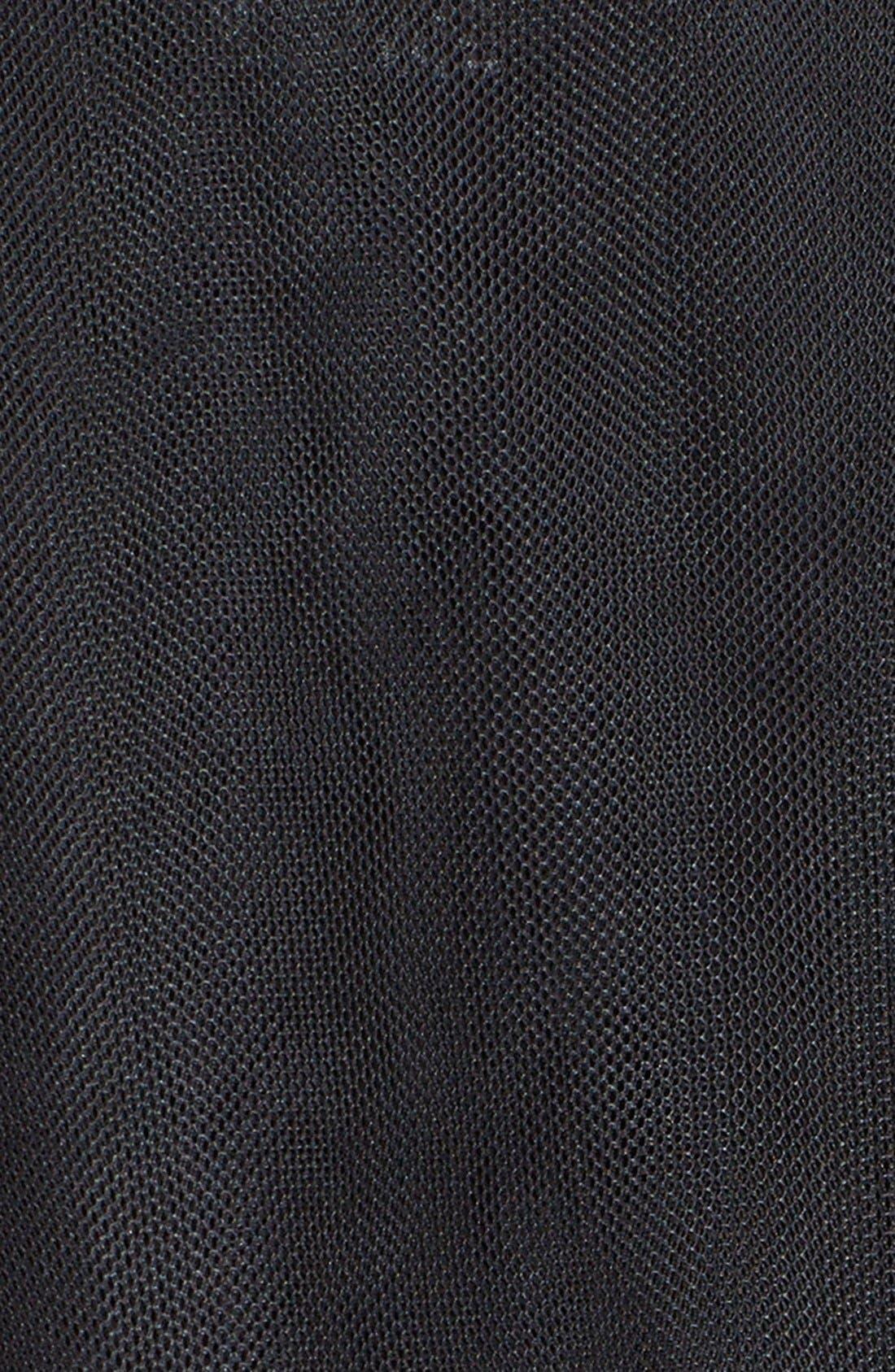 Alternate Image 3  - noir kei ninomiya Sheer Tulle Trench Coat