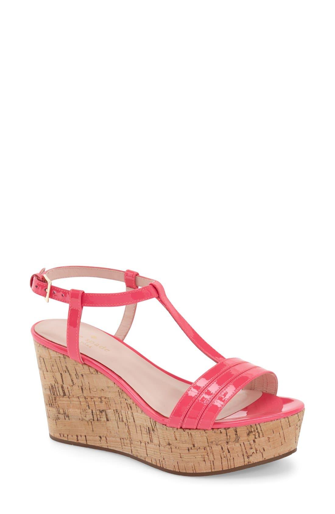 Alternate Image 1 Selected - kate spade new york 'tallin' wedge sandal (Women)