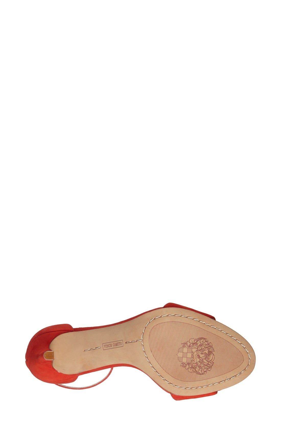 Alternate Image 4  - Vince Camuto 'Court' Ankle Strap Sandal (Women)