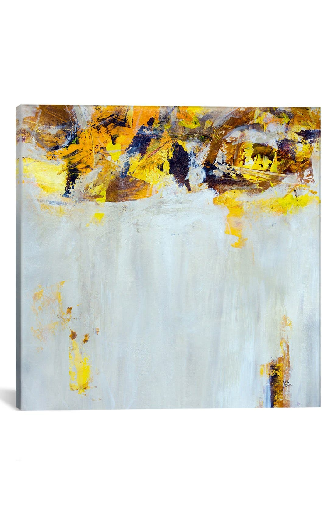 Alternate Image 1 Selected - iCanvas 'Yellow Spice' Giclée Print Canvas Art