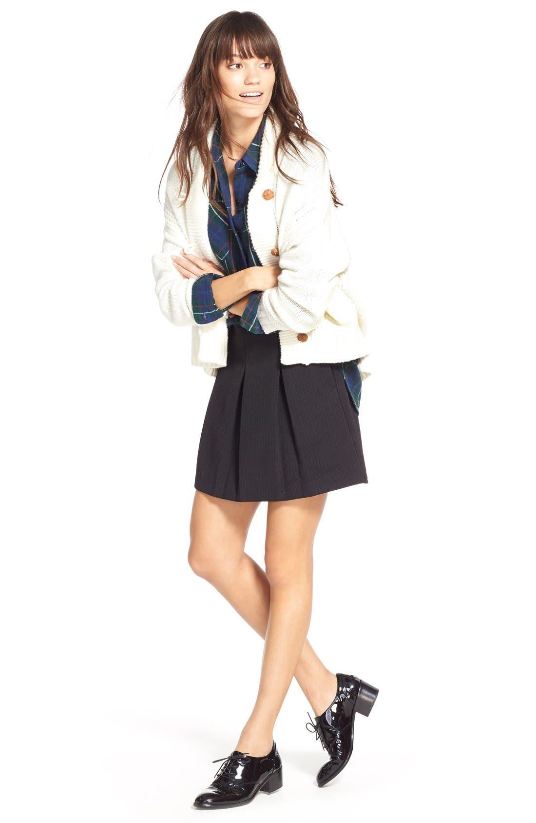 Alternate Image 2  - Madewell Jacquard Pleat Skirt