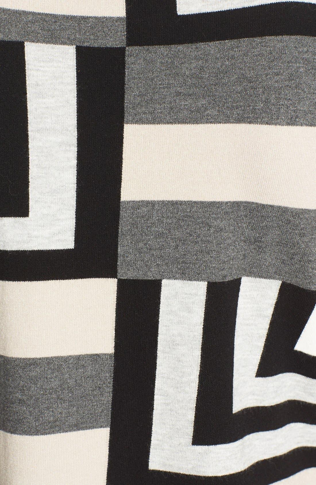 Alternate Image 5  - Milly Geometric Intarsia Pullover