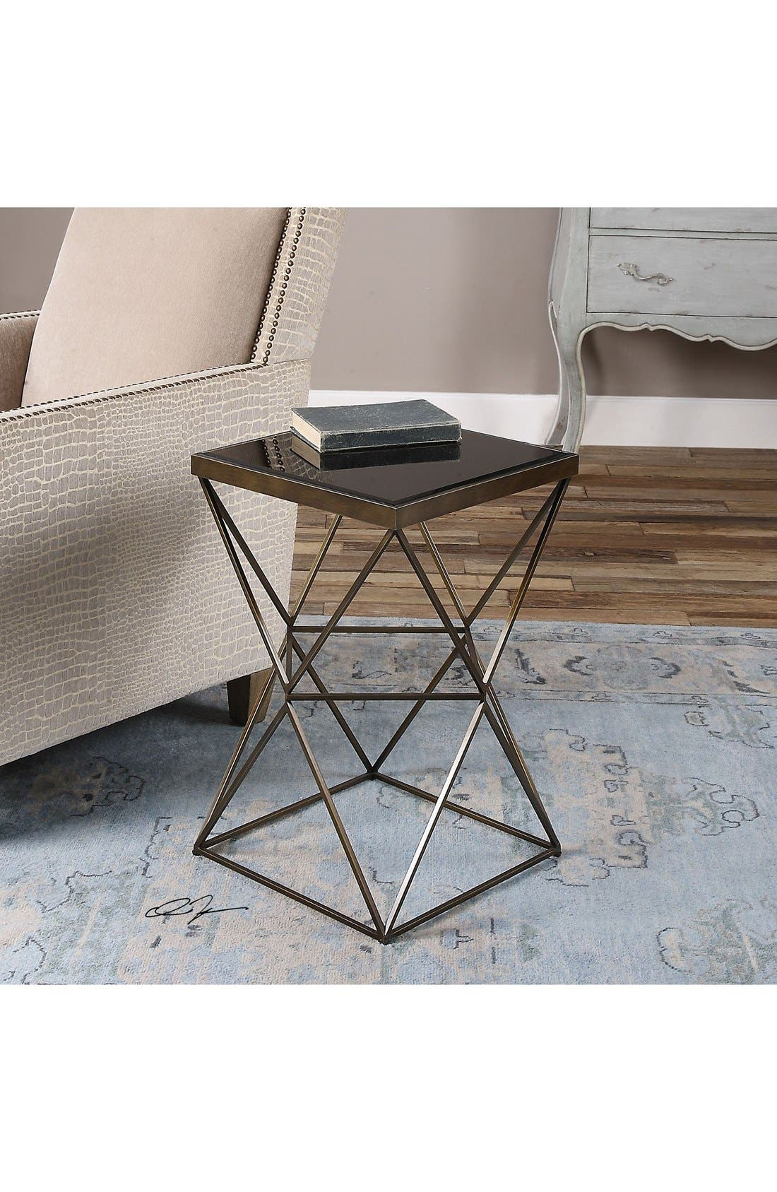 'Uberto' Accent Table,                             Alternate thumbnail 2, color,                             Grey