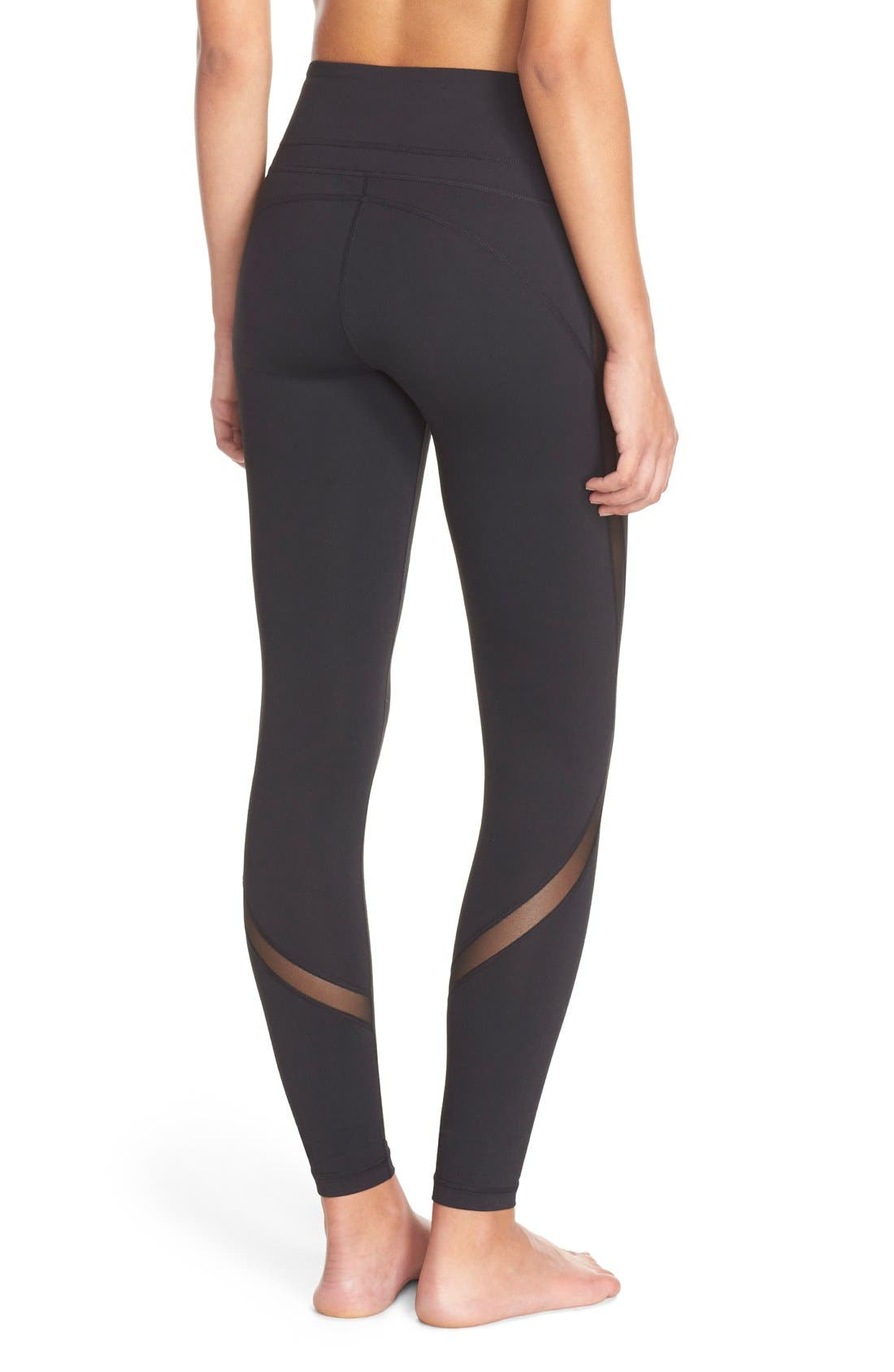Alternate Image 3  - Zella Sheer to Here High Waist Leggings