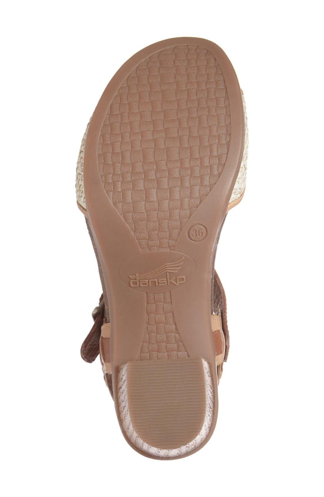 Alternate Image 4  - Dansko 'Debby' Platform Sandal (Women)