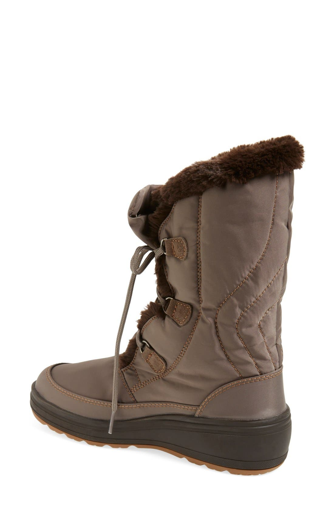 Alternate Image 2  - Pajar 'Marcie' Waterproof Snow Boot with Faux Fur Collar (Women)