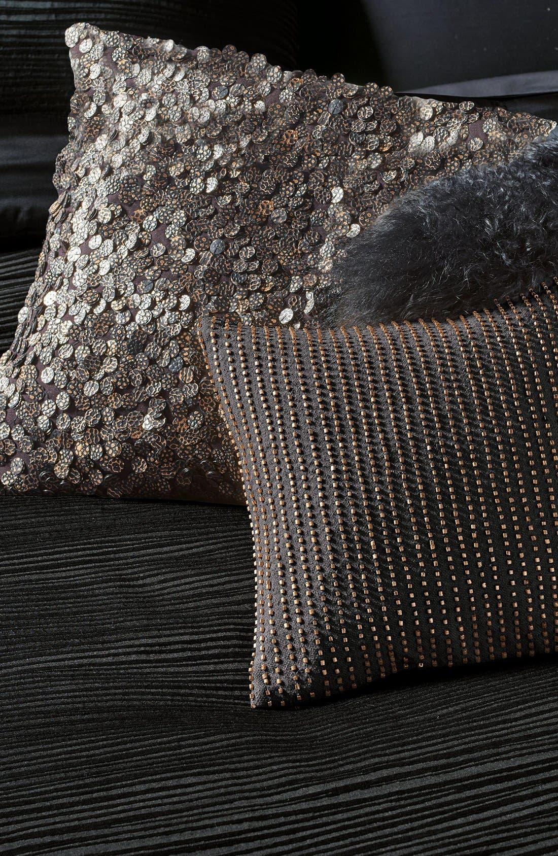 Alternate Image 2  - Donna Karan Collection Metallic Beaded Pillow
