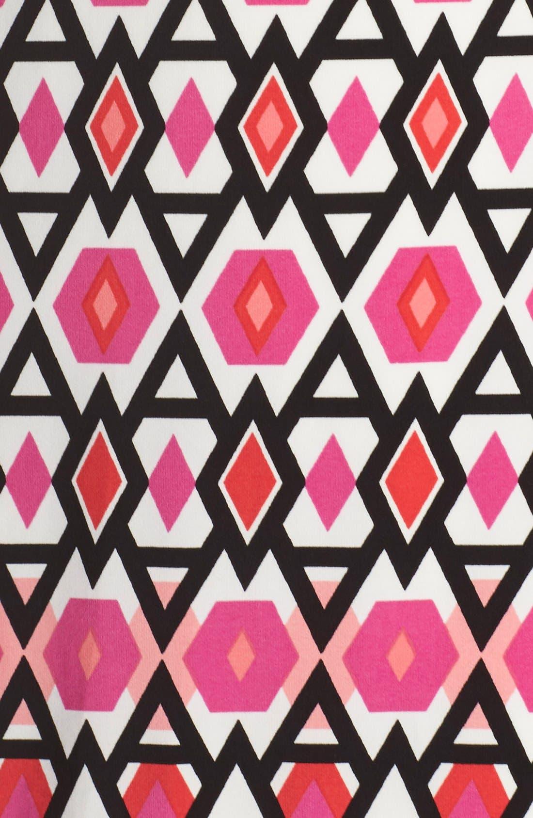 Alternate Image 6  - Eliza J Print Jersey Sheath Dress (Regular & Petite)