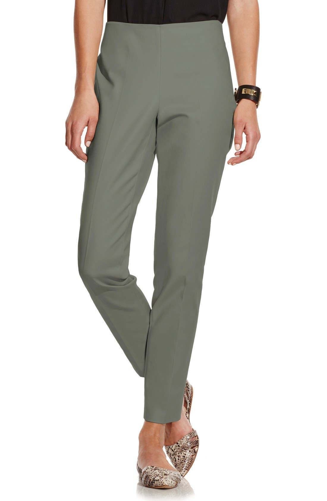 Alternate Image 1 Selected - Vince Camuto Side Zip Skinny Pants