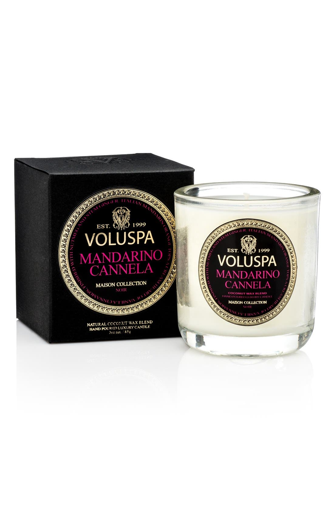 Alternate Image 2  - Voluspa 'Maison Noir' Classic Boxed Candle