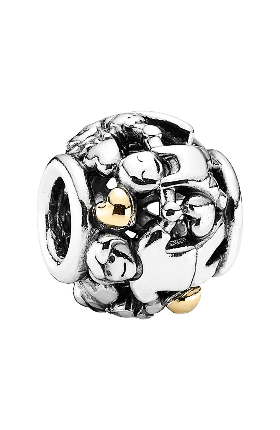 Alternate Image 1 Selected - PANDORA 'Family Forever' Bead Charm