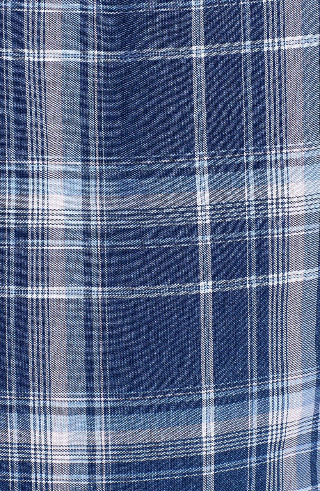 Alternate Image 5  - Hudson Jeans 'Britt' Plaid Shirt