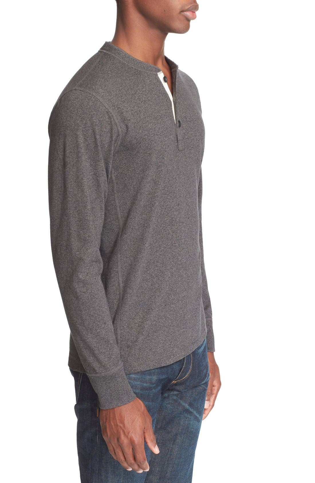 Standard Issue Henley,                             Alternate thumbnail 3, color,                             Pewter