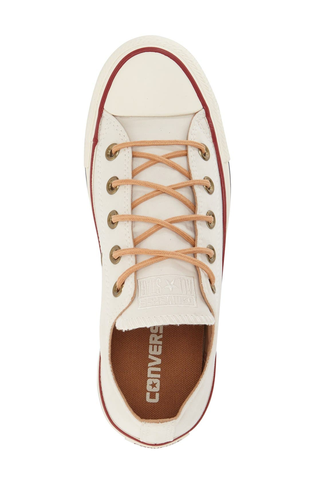 Alternate Image 3  - Converse Chuck Taylor® All Star® 'Peached - Ox' Low Top Sneaker (Women)